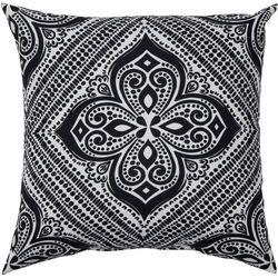 Mehndi Diamond Outdoor Pillow