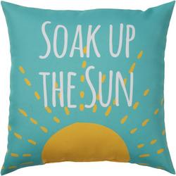 Soak Up The Sun Outdoor Pillow