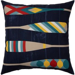 Lake Oars Outdoor Pillow