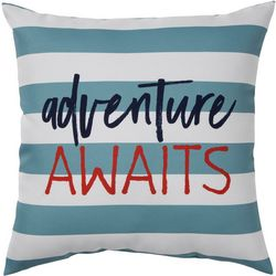 Brentwood Adventure Awaits Outdoor Pillow