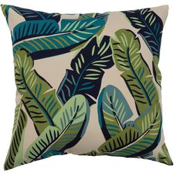 Banana Leaves Outdoor Pillow