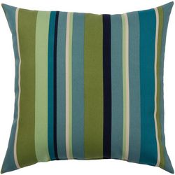 Tropical Stripe Outdoor Pillow