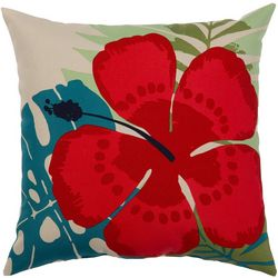 Hibiscus Outdoor Pillow