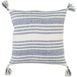 Knit Stripe Decorative Pillow