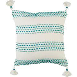 Bubble Stripe Decorative Pillow