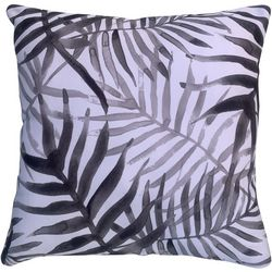 Cosmic Palm Frond Decorative Pillow