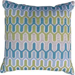 Cosmic Geometric Front Decorative Pillow