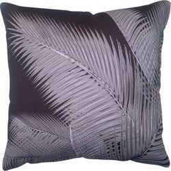 Cosmic Palm Frond Print Decorative Pillow