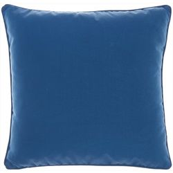 Mina Victory Solid Outdoor Decorative Pillow