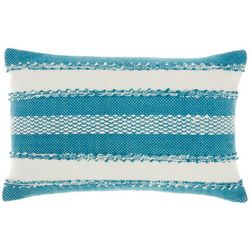 Mina Victory Striped Decorative Pillow