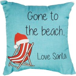 Jordan Manufacturing Beach Chair Outdoor Decorative Pillow