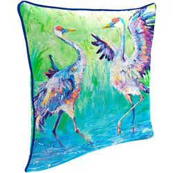 Leoma Lovegrove Sandy & Sunny Outdoor Decorative Pillow