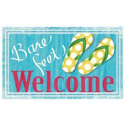 Apache Mills Bare Feet Welcome Doormat