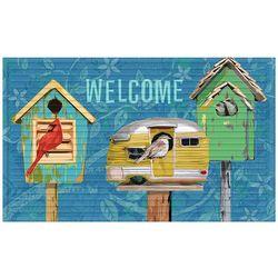 Apache Mills Paradise Birds Welcome Doormat