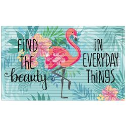 Apache Mills Find The Beauty In Everyday Things Doormat