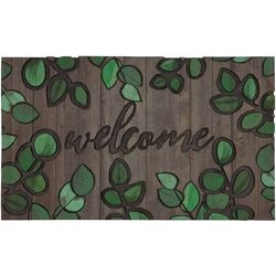Welcome Leaves Outdoor Rug