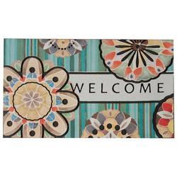 Playful Medallion Doormat