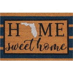 Florida Home Sweet Home Coir Outdoor Mat