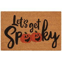 Nourison Let's Get Spooky Coir Doormat