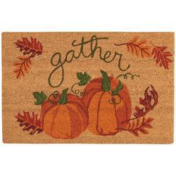 Gather Pumpkins Coir Doormat