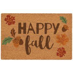 Nourison Happy Fall Coir Doormat