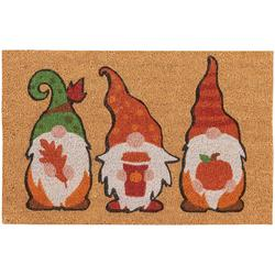 Gnome Trio Coir Doormat