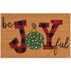 Nourison Be Joyful Coir Doormat