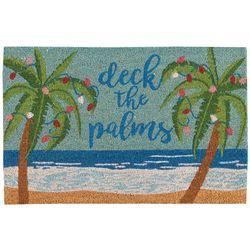 Nourison Deck The Palms Coir Doormat