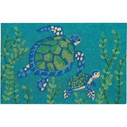 Two Turtles Coir Outdoor Mat
