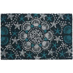 Tropix Shell & Starfish Coir Outdoor Mat
