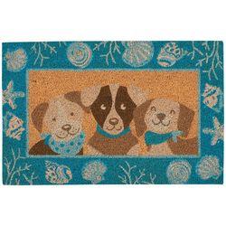Tropix Dog Trio Coir Outdoor Mat