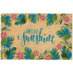 Tropix Hello Sunshine Coir Outdoor Mat
