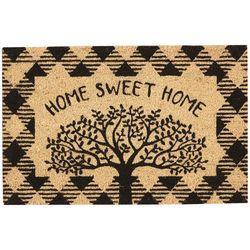 Tropix Home Sweet Home Tree Coir Outdoor Mat