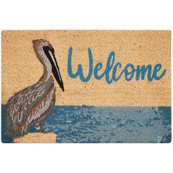 Tropix Welcome Pelican Coir Outdoor Mat