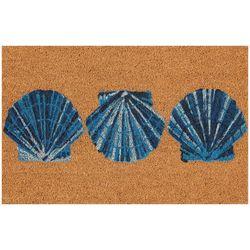 Tropix Shell Trio Coir Outdoor Mat