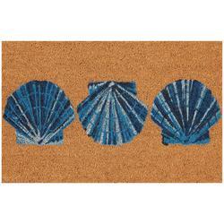 Shell Trio Coir Outdoor Mat