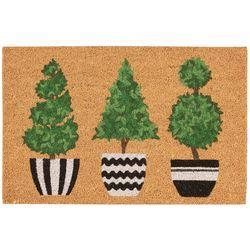 Casabella Trio Tree Coir Outdoor Mat