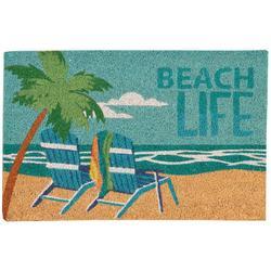 Beach Life Coir Outdoor Mat