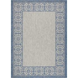 Nourison Medallion Border 63'' x 87'' Area Rug