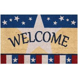 Americana Welcome Coir Outdoor Mat