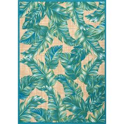 All Over Palms Area Rug
