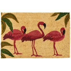 Trio Flamingo Coir Outdoor Mat
