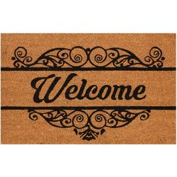 Welcome Coir Outdoor Mat