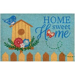Home Sweet Home Birds Coir Outdoor Mat