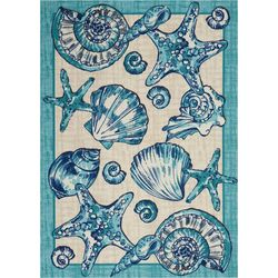 Nourison Shell Starfish Area Rug