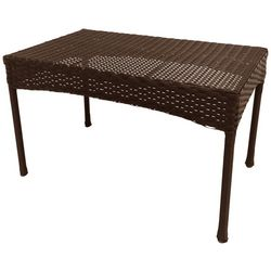 Coastal Home Wicker Patio Coffee Table
