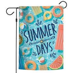 Wincraft Summer Days Pool Floats Garden Flag