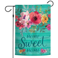 Wincraft Floral Home Sweet Home Garden Flag