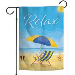 Relax Garden Flag