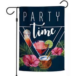 Party Time Garden Flag